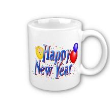 New Years Coffee Mug
